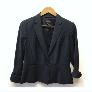Ann Taylor Jackets & Coats - Ann Taylor | Single Button Black Blazer Lined